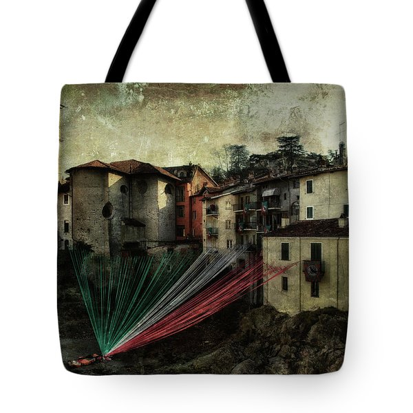 Tribute To Italy Tote Bag