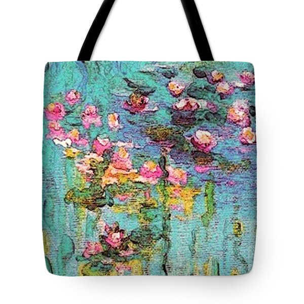 Tribute To Monet II Tote Bag