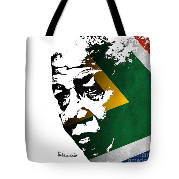tribute to Nelson Mandela Tote Bag