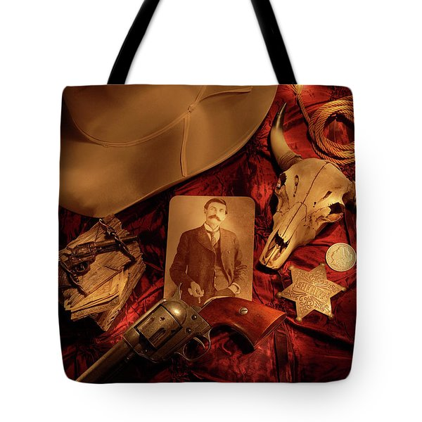 Tribute To Pat Tote Bag by Daniel Alcocer