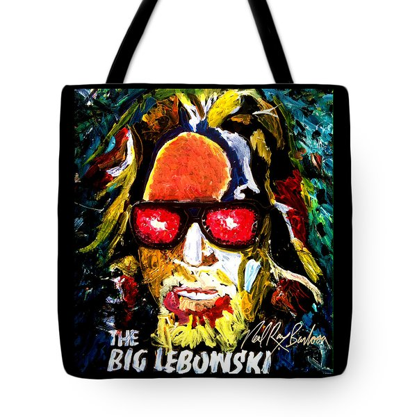 tribute to THE BIG LEBOWSKI Tote Bag