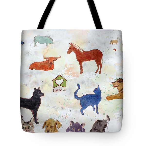 Tribute To Tracy Tote Bag