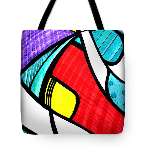 VIDA Statement Bag - Colorful Leaves by VIDA Anv4gX