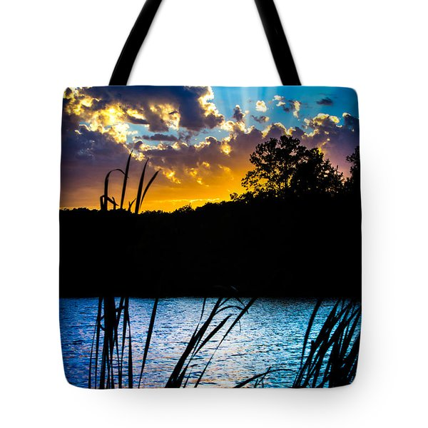 Tricity Sunset Tote Bag