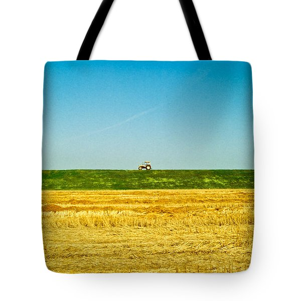 Tricolor With Tractor Tote Bag