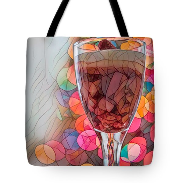 Tote Bag featuring the photograph Trifle Remix by Dan McManus