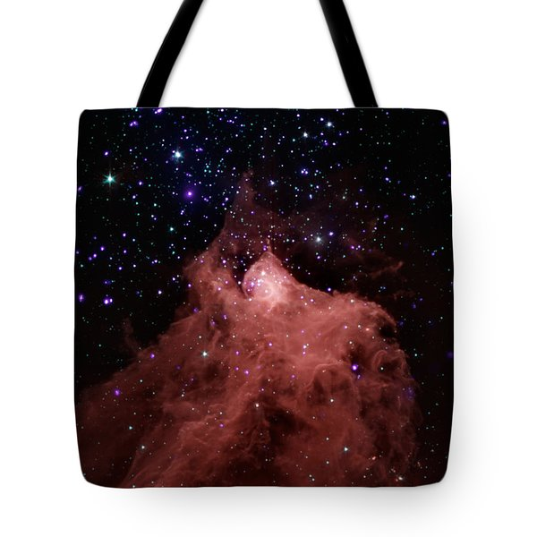Tote Bag featuring the photograph Trigger-happy Star Formation by Artistic Panda