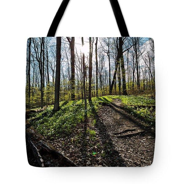 Trillium Trail Tote Bag