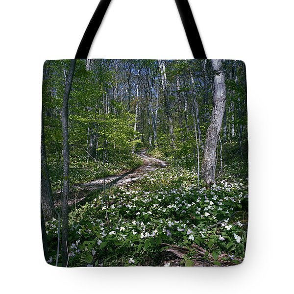 Trillium Woods No. 2 Tote Bag
