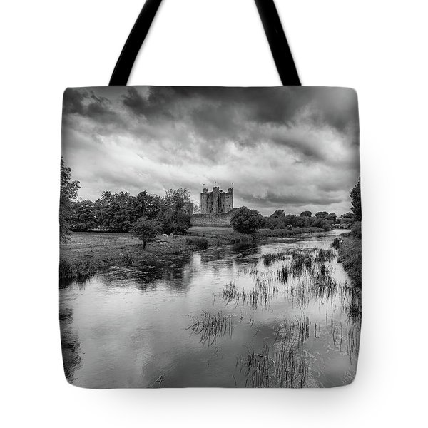 Trim Castle And The River Boyne Tote Bag by Martina Fagan