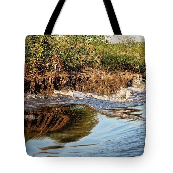 Trinidad Water Reflection Tote Bag