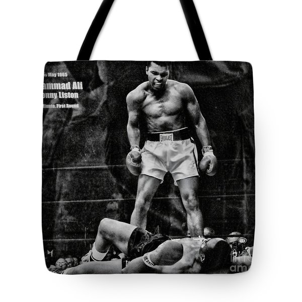 Trinity Boxing Gym Ali Vs Liston  Tote Bag
