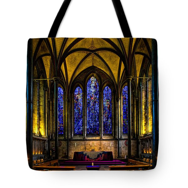 Trinity Chapel Salisbury Cathedral Tote Bag