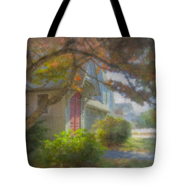 Trinity Episcopal Church, Bridgewater, Massachusetts Tote Bag