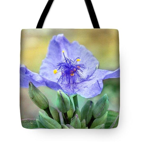 Trinity Flower Tote Bag