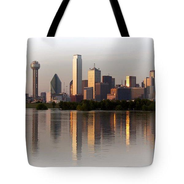 Trinity River Dallas 4 Tote Bag
