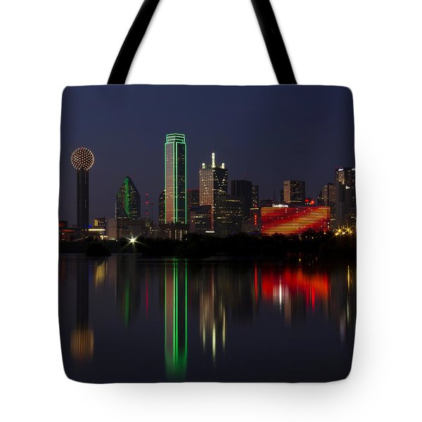 Trinity River Dallas Tote Bag
