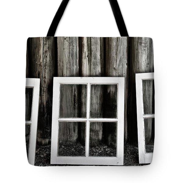 Tote Bag featuring the photograph Trio by Brad Allen Fine Art