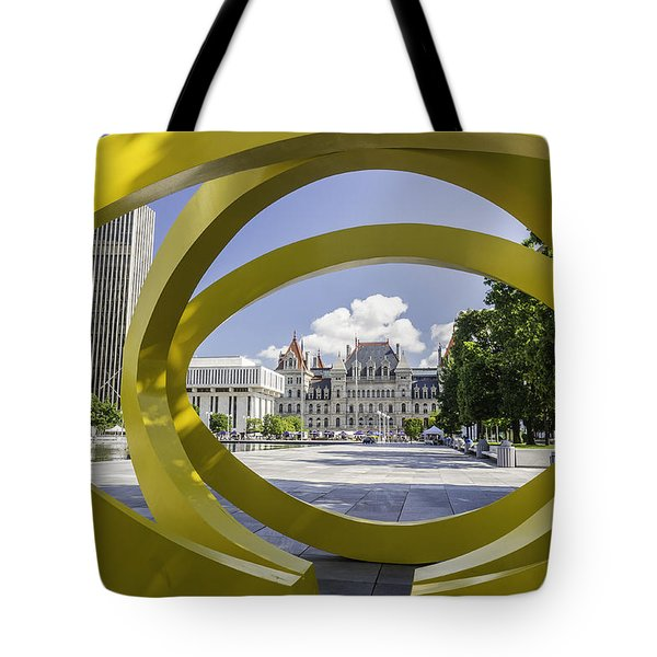 Tote Bag featuring the photograph Trio by Brad Wenskoski