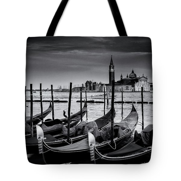 Trio Of Gondolas Tote Bag