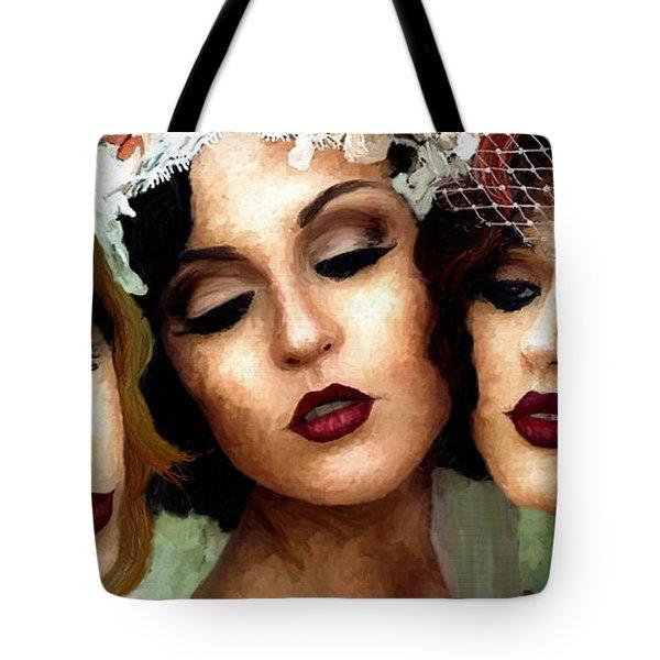 Trio Of Ladies Tote Bag by James Shepherd
