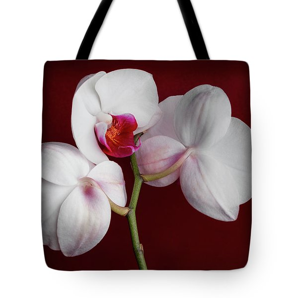 Trio Of Orchids Tote Bag