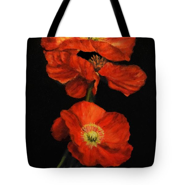 Poppy Trio Tote Bag