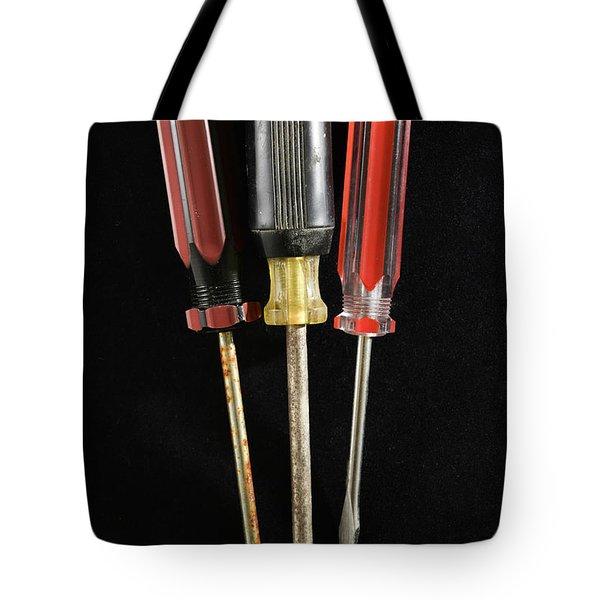 Trio Of Screwdrivers Tote Bag