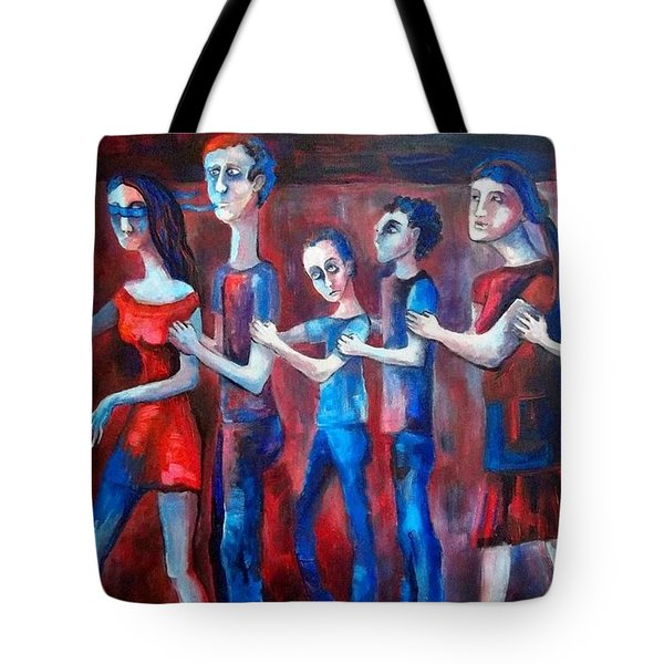 Trip For The Justice Tote Bag by Elisheva Nesis
