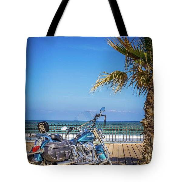 Tote Bag featuring the photograph Trip To The Sea. by Gary Gillette