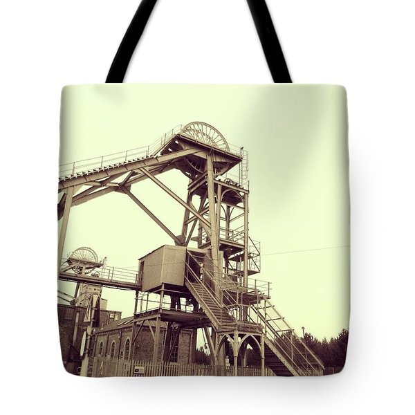 Woodhorn Colliery Museum Tote Bag