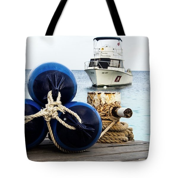 Tote Bag featuring the photograph Triple Bumpers by Jean Noren
