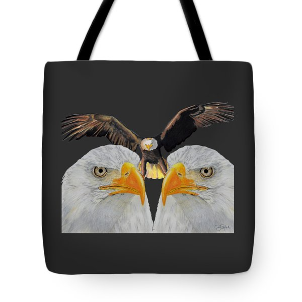 Triple Eagle Tote Bag by Bill Richards