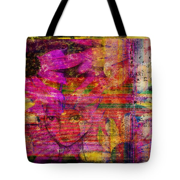 Triple Exposure Tote Bag by Diana Boyd