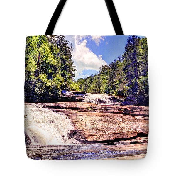 Triple Falls - Dupont Forest Tote Bag
