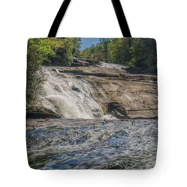 Triple Falls Second Tier Tote Bag by Steven Richardson