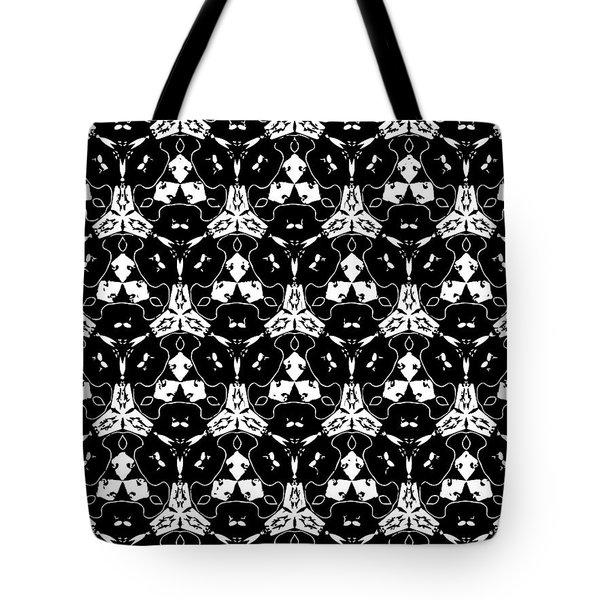 Triple Lace Tote Bag