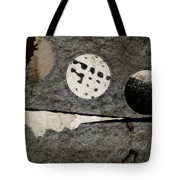 Triple Lunacy Abstract 1 Tote Bag