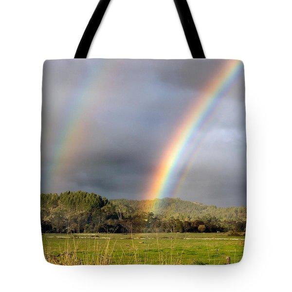 Triple Promise Tote Bag