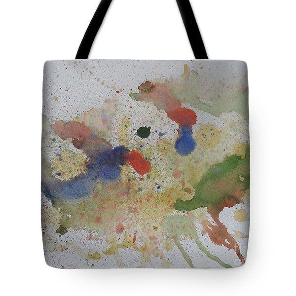 Tote Bag featuring the painting Triple Rooster Race by Vicki  Housel