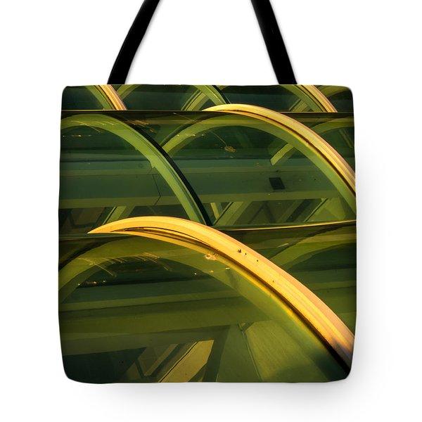 Triple Skylight Tote Bag