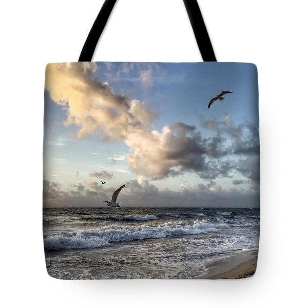 Triple Trouble Tote Bag