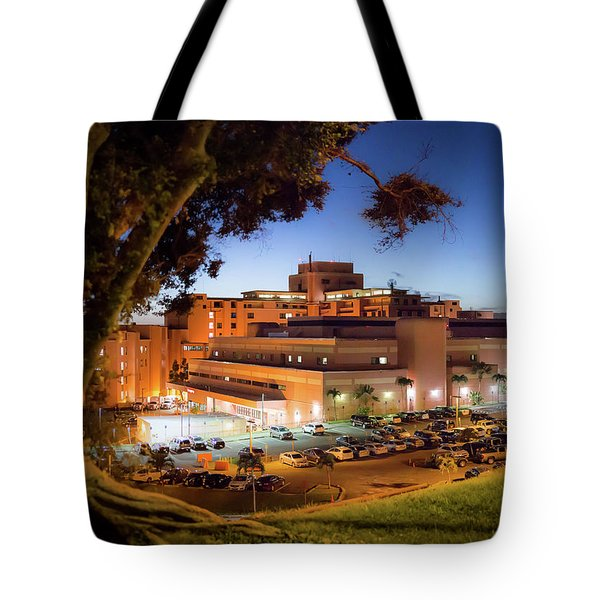 Tote Bag featuring the photograph Tripler Army Medical Center by Geoffrey C Lewis