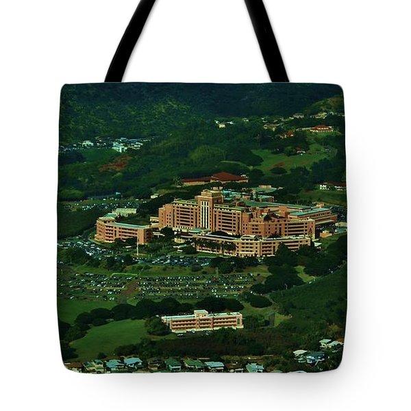 Tripler Army Medical Center Honolulu Tote Bag by Craig Wood
