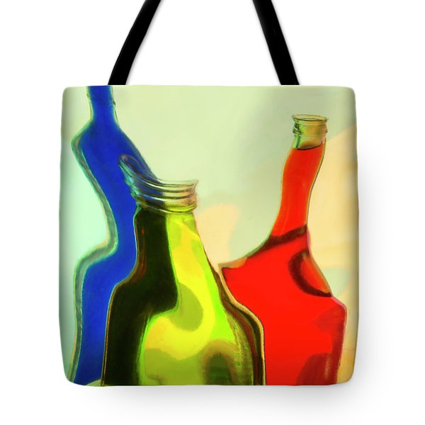 Tote Bag featuring the photograph Triplets by Elena Nosyreva