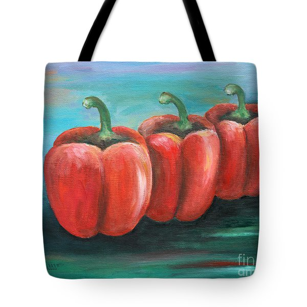 Triplets Tote Bag by Jutta Maria Pusl