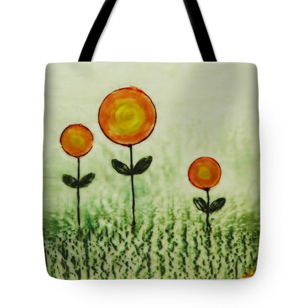 Triplets Tote Bag by Terry Honstead