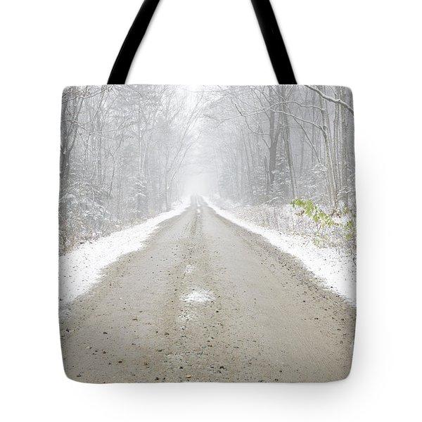 Tripoli Road - White Mountains New Hampshire Usa Tote Bag