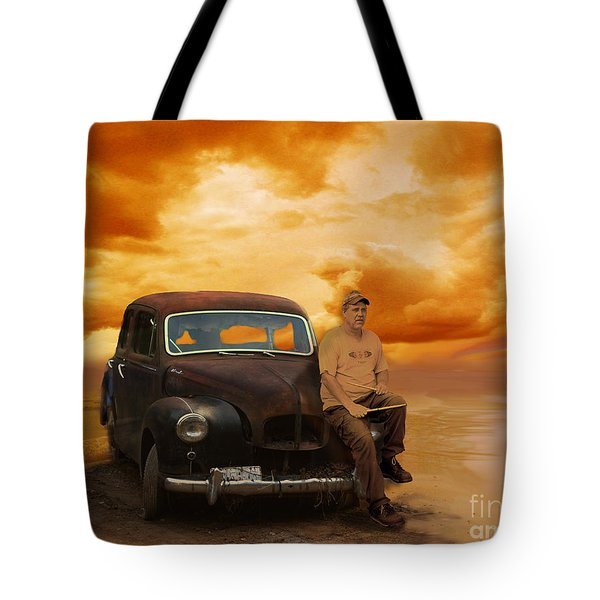 Trippin' With My '48 Austin A40 Tote Bag