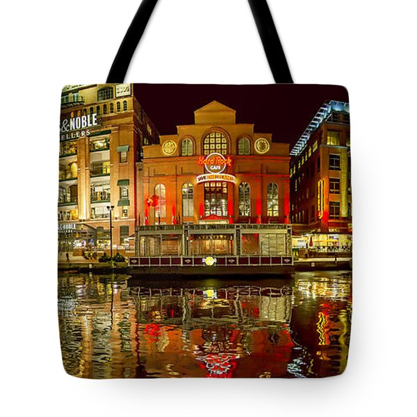 Tripping The Lights - Pano Tote Bag